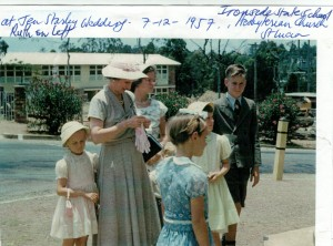 Ironside State School St Lucia Jen Wedding 1957